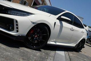 2018 Honda Civic 10th Gen MY18 Type R White 6 Speed Manual Hatchback.