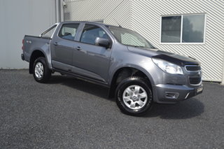 2015 Holden Colorado RG MY16 LS-X Crew Cab Grey 6 Speed Sports Automatic Utility.