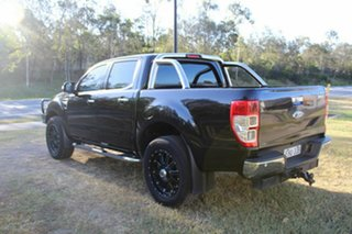2012 Ford Ranger PX XLT Double Cab Black 6 Speed Manual Utility