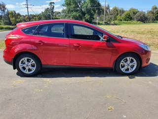 2012 Ford Focus LW Trend Red 5 Speed Manual Hatchback.