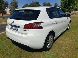 2016 Peugeot 308 T9 MY17 Active White 6 Speed Sports Automatic Hatchback.