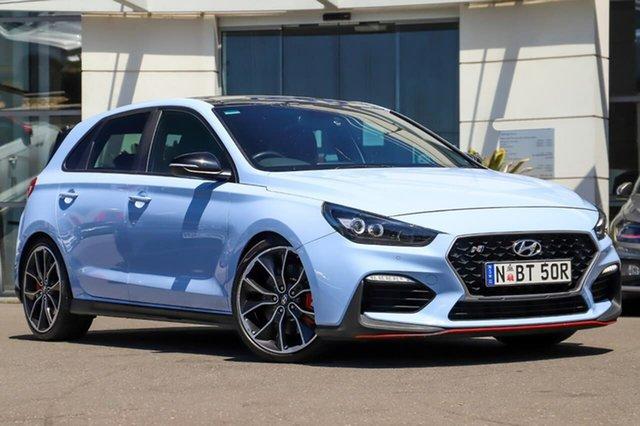 Used Hyundai i30 PDe MY18 N Performance Sutherland, 2018 Hyundai i30 PDe MY18 N Performance Blue 6 Speed Manual Hatchback