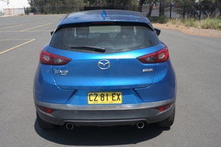 2015 Mazda CX-3 DK4W7A sTouring SKYACTIV-Drive i-ACTIV AWD Blue 6 Speed Sports Automatic Wagon
