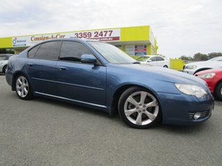 2008 Subaru Liberty B4 MY08 3.0R AWD Premium Blue 5 Speed Sports Automatic Sedan