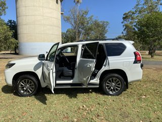 2018 Toyota Landcruiser Prado GDJ150R VX Crystal Pearl 6 Speed Sports Automatic Wagon
