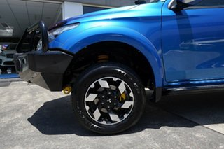 2017 Mitsubishi Triton MQ MY18 Exceed Double Cab Blue 5 Speed Sports Automatic Utility.