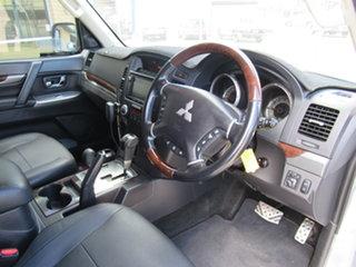 2012 Mitsubishi Pajero NW MY12 Exceed Silver 5 Speed Automatic Wagon