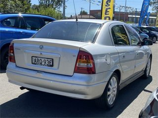 2004 Holden Astra TS MY03 CDX Silver 4 Speed Automatic Sedan