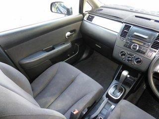 2006 Nissan Tiida C11 ST Black 4 Speed Automatic Hatchback.
