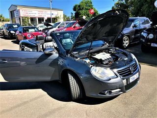 2010 Volkswagen EOS 1F MY11 103TDI DSG Grey 6 Speed Sports Automatic Dual Clutch Convertible