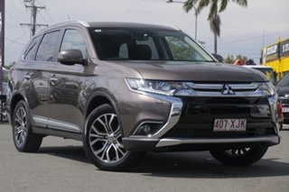 2016 Mitsubishi Outlander ZK MY16 Exceed 4WD Ironbark 6 Speed Sports Automatic Wagon.