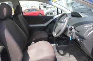 2006 Toyota Yaris NCP90R YR Greyish Blue Mica Metallic/ 4 Speed Automatic Hatchback
