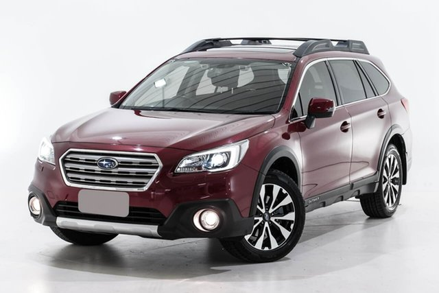 Used Subaru Outback B6A MY16 2.5i CVT AWD Premium Berwick, 2016 Subaru Outback B6A MY16 2.5i CVT AWD Premium Red 6 Speed Constant Variable Wagon
