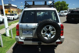 2012 Nissan Patrol GU 7 MY10 ST Grey 5 Speed Sports Automatic Wagon.