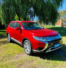 2020 Mitsubishi Outlander ZL MY20 ES 2WD Red Diamond 6 Speed Constant Variable Wagon.