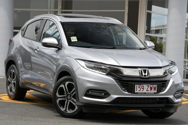 Demo Honda HR-V MY21 VTi-LX Newstead, 2020 Honda HR-V MY21 VTi-LX Lunar Silver 1 Speed Constant Variable Hatchback