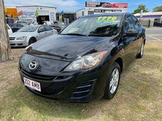 2010 Mazda 3 BL10F1 Maxx Activematic Black 5 Speed Sports Automatic Sedan.