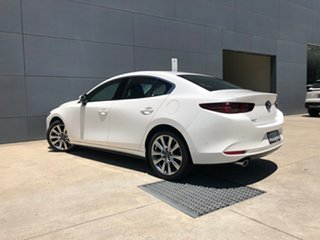 2020 Mazda 3 BP2SLA G25 SKYACTIV-Drive Astina Snowflake White 6 Speed Sports Automatic Sedan