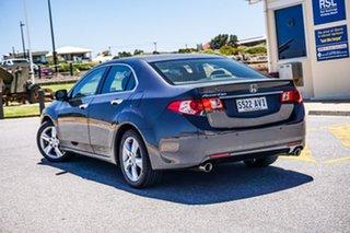 2012 Honda Accord Euro CU MY12 Grey 5 Speed Automatic Sedan.