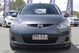 2007 Mazda 2 DE10Y1 Maxx Metropolitan Grey 4 Speed Automatic Hatchback