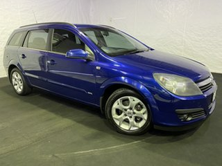 2006 Holden Astra AH MY06 CDX Ultra Blue/grey 5 Speed Manual Wagon