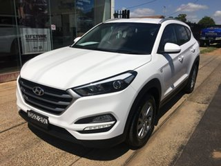 2017 Hyundai Tucson TL2 Active White Sports Automatic.