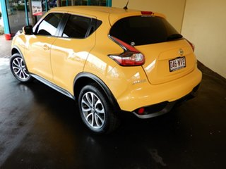 2016 Nissan Juke F15 Series 2 ST (FWD) Yellow Continuous Variable Wagon.