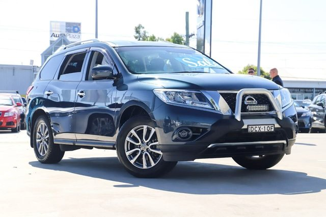 Used Nissan Pathfinder R52 MY15 ST X-tronic 2WD Kirrawee, 2015 Nissan Pathfinder R52 MY15 ST X-tronic 2WD Blue 1 Speed Constant Variable Wagon