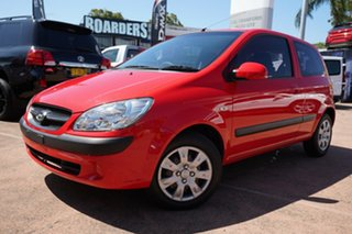 2010 Hyundai Getz TB MY09 S Red 5 Speed Manual Hatchback