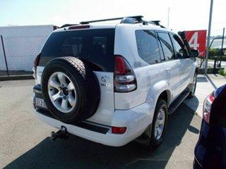 2008 Toyota Landcruiser 120 GXL White 6 Speed Manual Wagon.