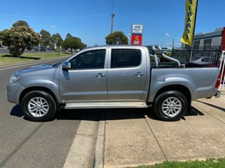 2015 Toyota Hilux KUN26R MY14 SR5 Double Cab Silver 5 Speed Automatic Utility