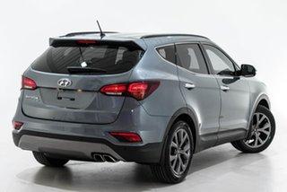 2017 Hyundai Santa Fe DM3 MY17 Active X 2WD Silver 6 Speed Sports Automatic Wagon.