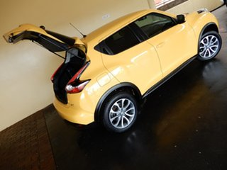 2016 Nissan Juke F15 Series 2 ST (FWD) Yellow Continuous Variable Wagon