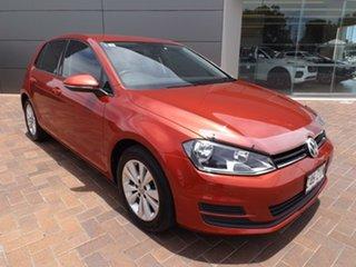 2014 Volkswagen Golf VII MY14 90TSI DSG Comfortline 7 Speed Sports Automatic Dual Clutch Hatchback.