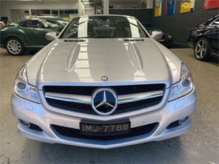 2012 Mercedes-Benz SL-Class R230 SL500 Silver Sports Automatic Roadster.
