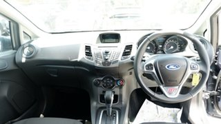 2014 Ford Fiesta WZ Ambiente PwrShift Black 6 Speed Sports Automatic Dual Clutch Hatchback