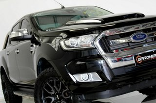 2016 Ford Ranger PX MkII MY17 XLT 3.2 (4x4) Black 6 Speed Automatic Double Cab Pick Up.