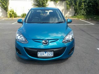 2011 Mazda 2 DE MY10 Neo Blue 4 Speed Automatic Hatchback.
