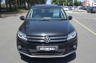 2011 Volkswagen Tiguan 5N MY12 132TSI DSG 4MOTION Black 7 Speed Sports Automatic Dual Clutch Wagon.