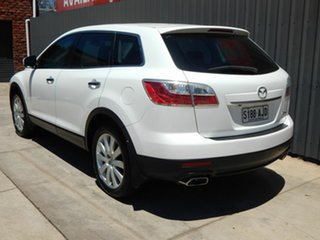 2010 Mazda CX-9 TB10A3 MY10 Luxury White 6 Speed Sports Automatic Wagon.