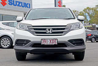 2013 Honda CR-V RM VTi White 5 Speed Automatic Wagon.