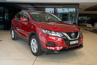 2020 Nissan Qashqai J11 Series 3 MY20 ST X-tronic Magnetic Red 1 Speed Constant Variable Wagon.