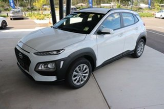 2020 Hyundai Kona OS.3 MY20 Go 2WD Chalk White 6 Speed Sports Automatic Wagon.