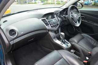 2012 Holden Cruze JH MY12 CDX Green 6 Speed Automatic Hatchback