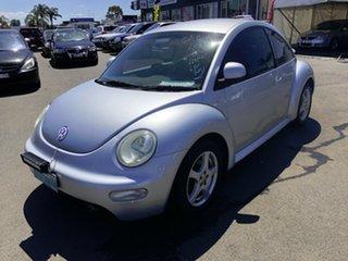 2004 Volkswagen Beetle 9C Turbo Silver 5 Speed Manual Hatchback.