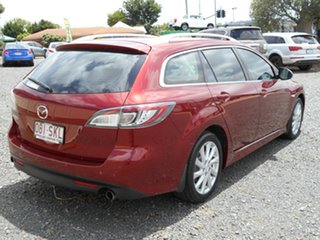 2012 Mazda 6 GH1052 MY12 Touring Red 5 Speed Sports Automatic Wagon.