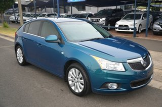2012 Holden Cruze JH MY12 CDX Green 6 Speed Automatic Hatchback.