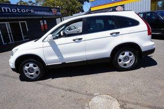 2010 Honda CR-V RE MY2010 4WD Taffeta White 5 Speed Automatic Wagon.