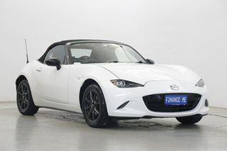 2015 Mazda MX-5 ND GT SKYACTIV-MT White 6 Speed Manual Roadster