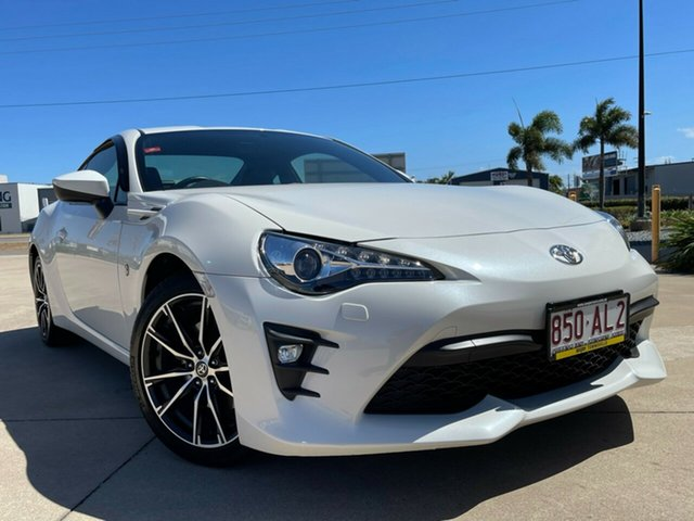 Used Toyota 86 ZN6 GTS Townsville, 2018 Toyota 86 ZN6 GTS White 6 Speed Sports Automatic Coupe